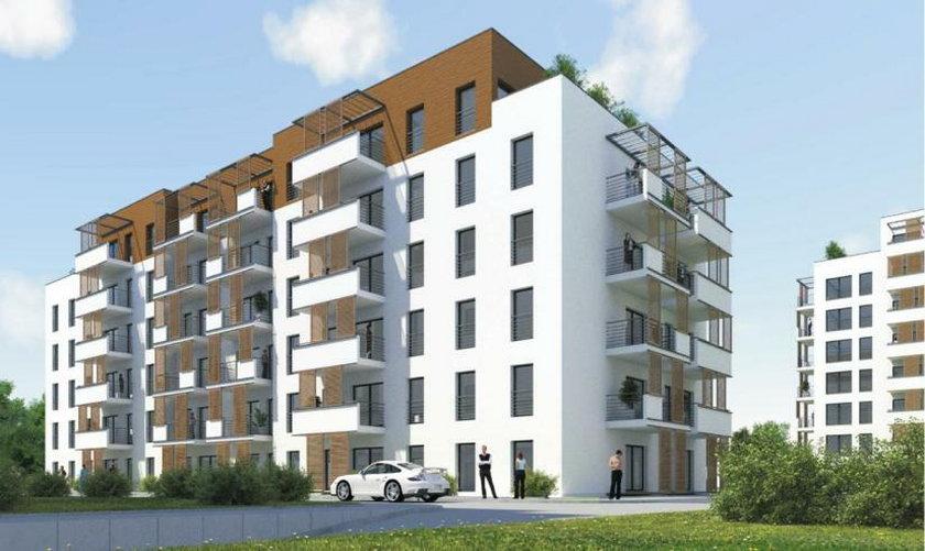 Wizualizacja mieszkań czynszowych w Żorach