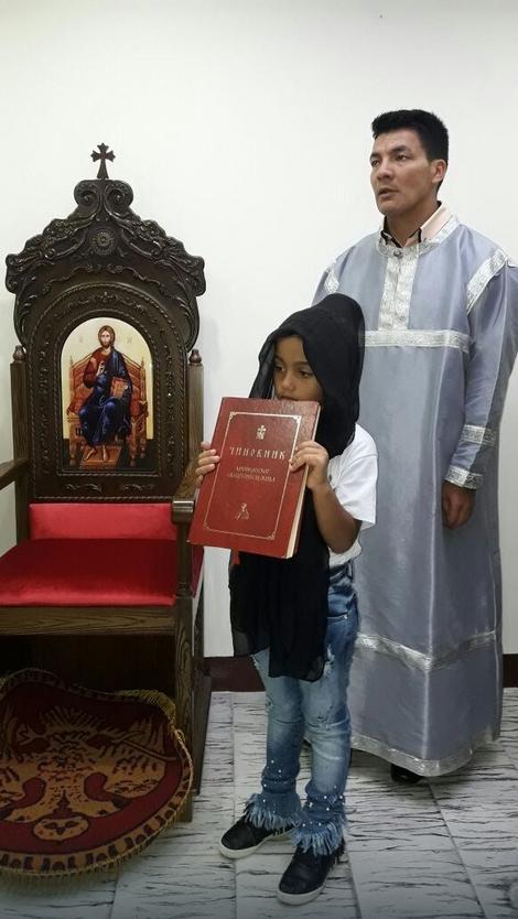 Služba u pravoslavnoj crkvi u Kolumbiji