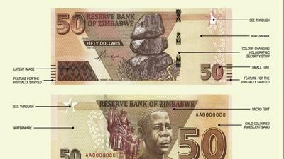 Here is what Zimbabwe's new 50 dollar note can buy