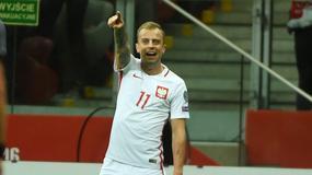 Kamil Grosicki: łeb pęka, fantastyczna noc