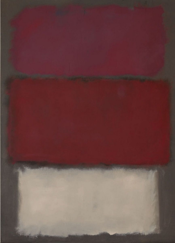 "Mark Rothko, ""Untitled"" (1960) - 50 095 250 dol."