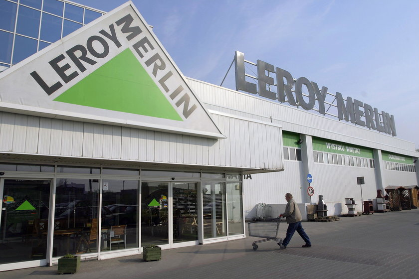 Hipermarket Leroy Merlin.
