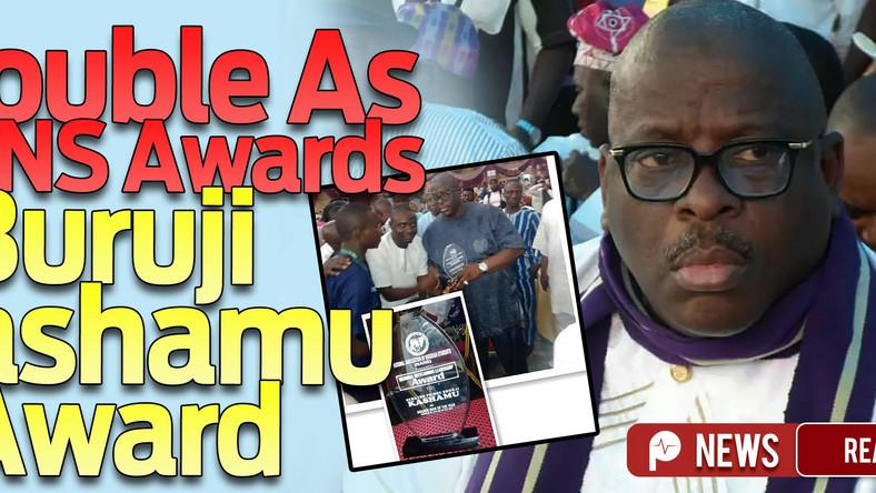 Buruji Kashamu Ogun APC blasts NANS' Golden Man award to alleged