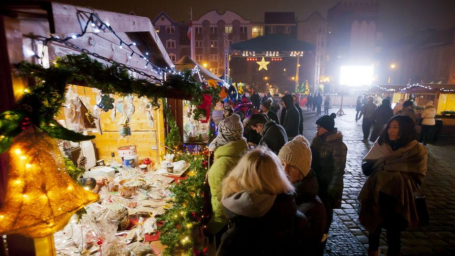 Jarmark Bożonarodzeniowy w Gorzowie fot. UM