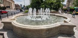 Włączyli już miejskie fontanny