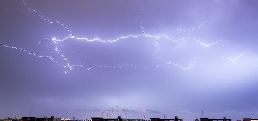Coraz więcej alertów najwyższego stopnia przed burzami! Sprawdź, gdzie będzie najgorzej