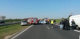 Śmiertelny wypadek na autostradzie pod Kutnem