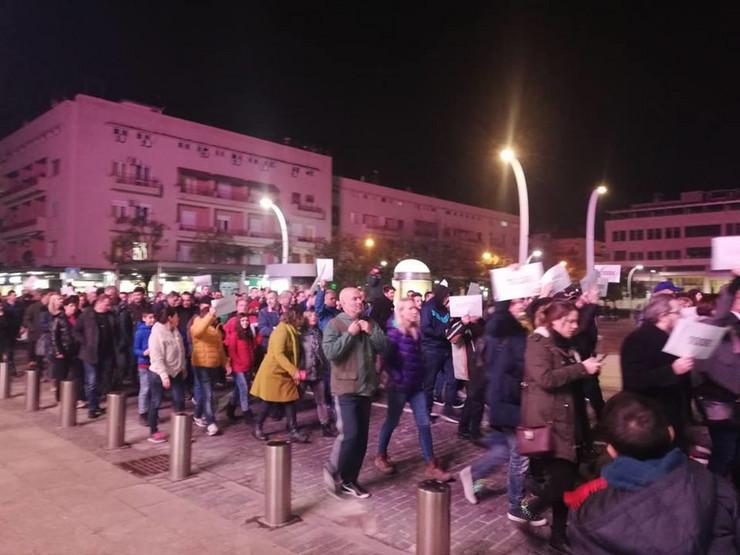 Podgorica protest, foto CDM