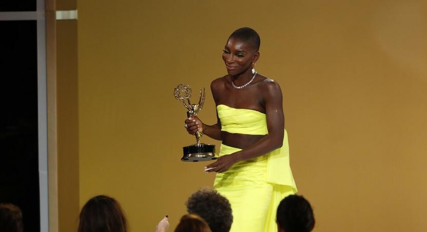 Michaela Coel wins Emmys
