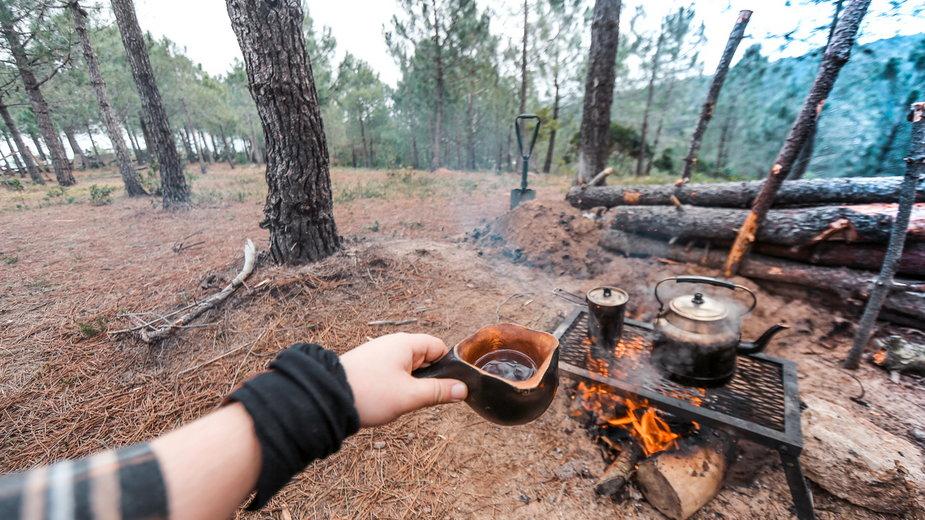 24 godziny w lesie, czyli bushcraft dla początkujących