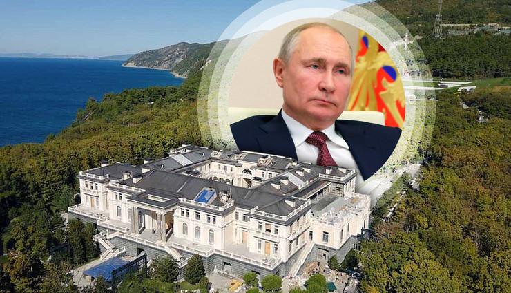 putin dvorac kombo RAS palace navalny com, ap mikhail klimentyev