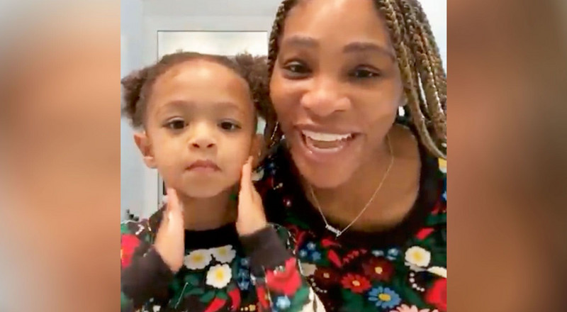 Serena Williams Just Shared Her Morning Skincare Routine With Daughter Alexis, And It's Adorable