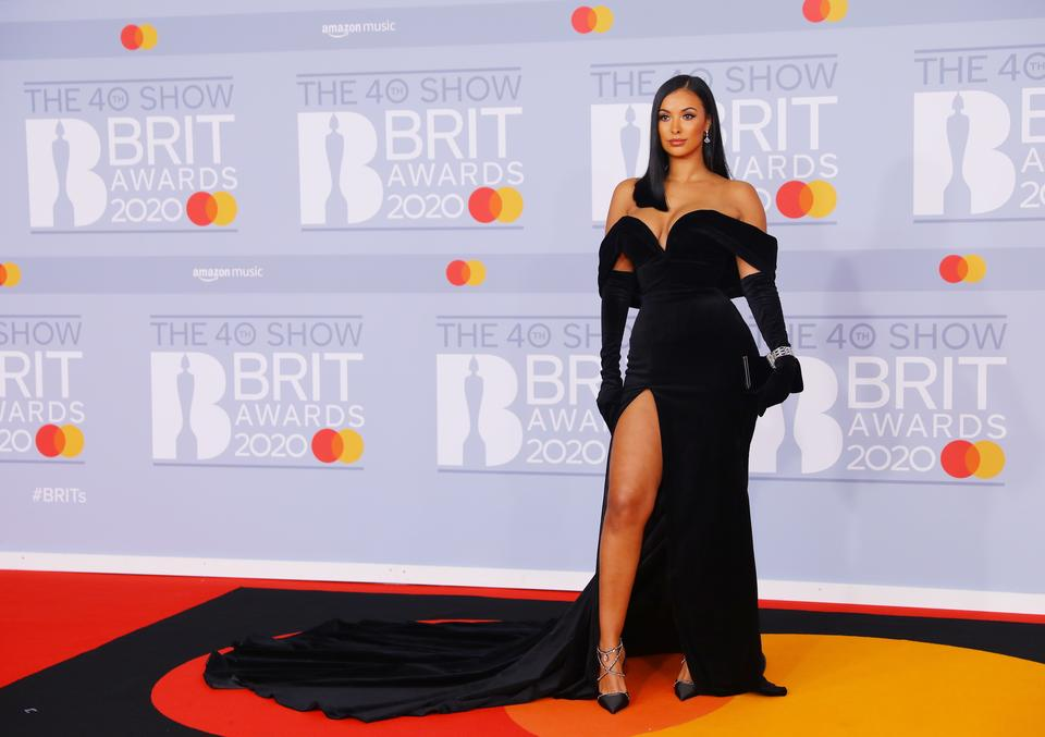 Brit Awards 2020: Maya Jama
