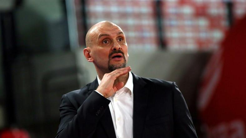 Żan Tabak - Mistrz NBA z 1995 roku z Houston Rockets PAP/Tomasz Wojtasik