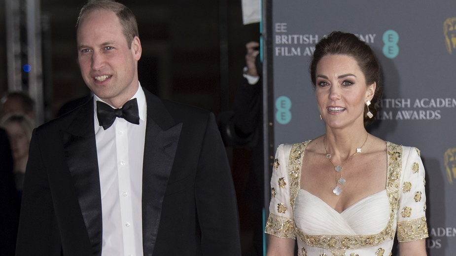 Książę William i Księżna Kate na gali BAFTA 2020
