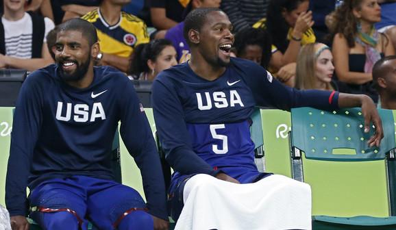 Svojevremeno su nastupali za tim SAD, a od ove sezone će Irving i Durant biti saigrači u Bruklinu