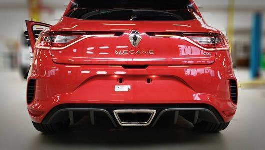 Nowe Renault Megane RS przyłapane