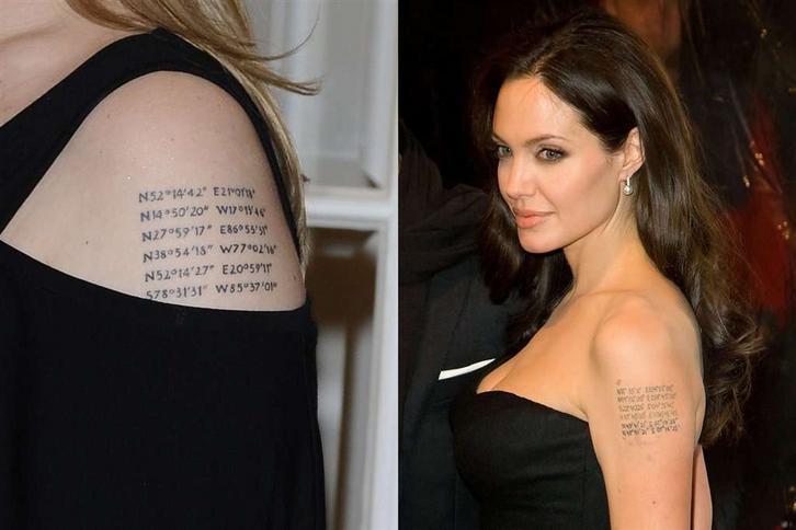 Ma Tatuaż Jak Jolie Geograficzny