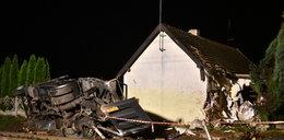 Pociąg wjechał w tira, tir zniszczył dom [FILM]