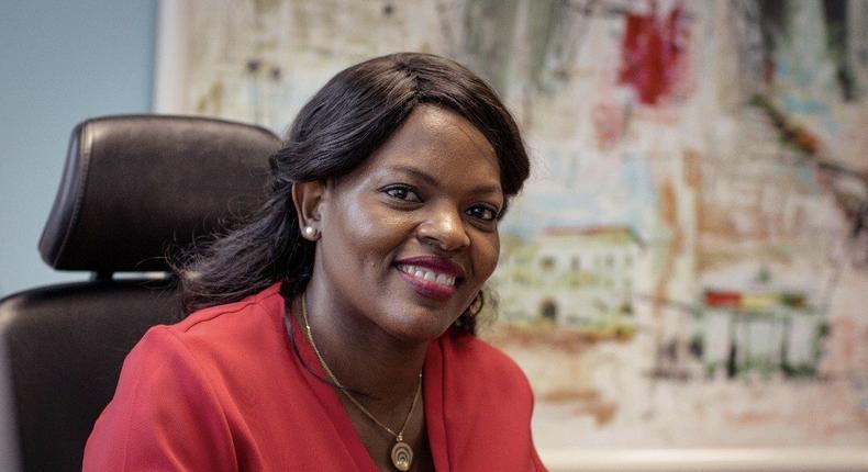 CEO of Vodafone Ghana, Yolanda Zoleka Cuba