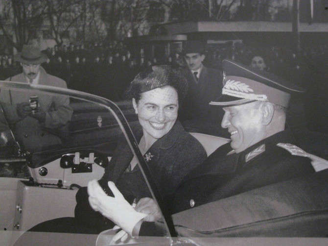 Josip Broz Tito sa Jovankom Broz