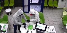 Ci bandyci napadli na bank