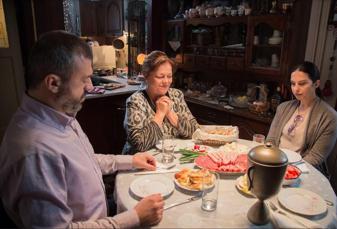 Glumački par sa Vesnom Čipčić