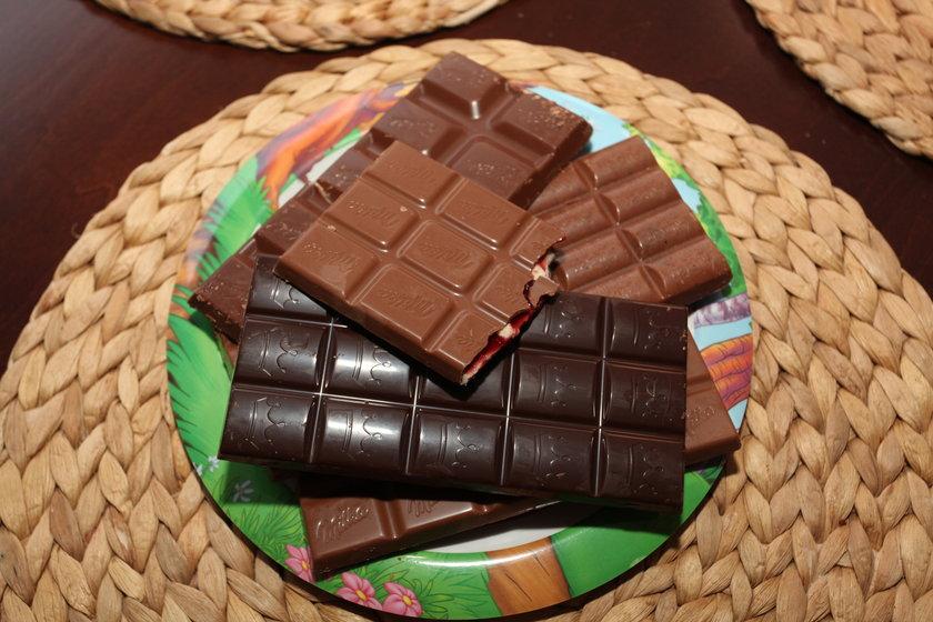 Koniec z jedzeniem czekolady