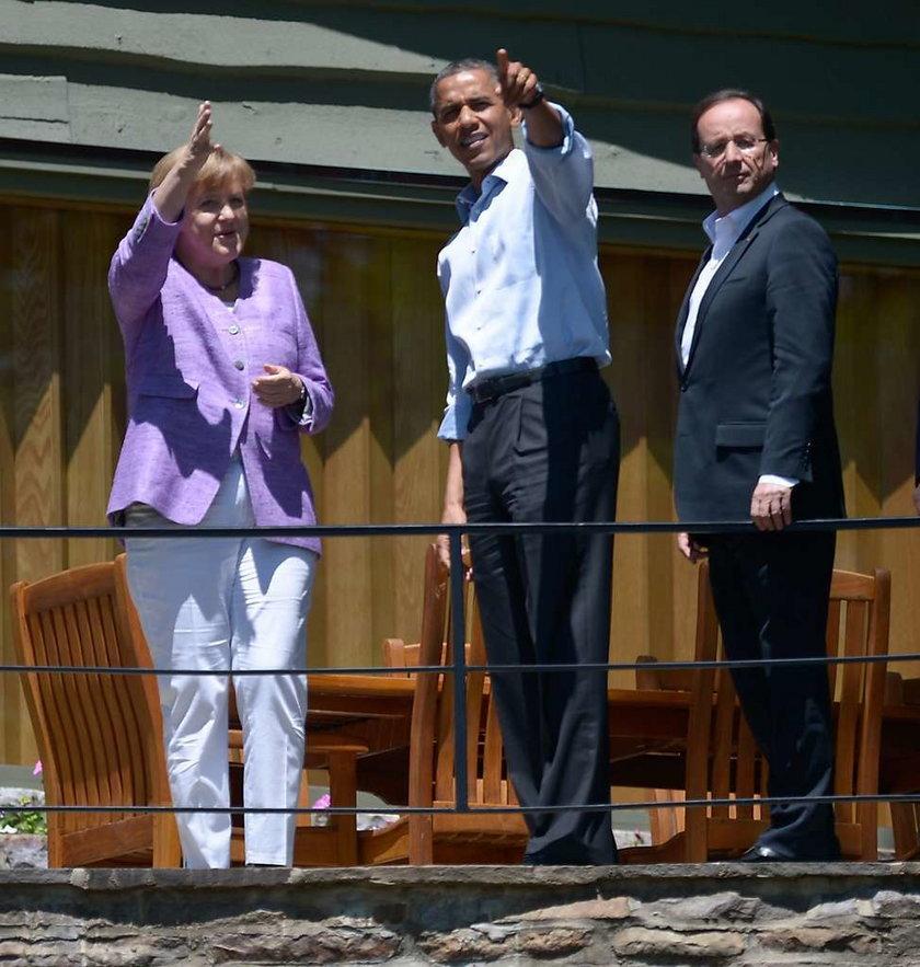 APTOPIX G8 Summit