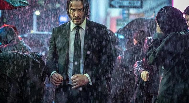 'John wick chapter 3' puts Keanu Reeves back on top at the box office