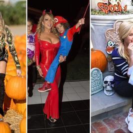 Gwiazdy przygotowują się do Halloween. Niektóre z nich ciężko rozpoznać!