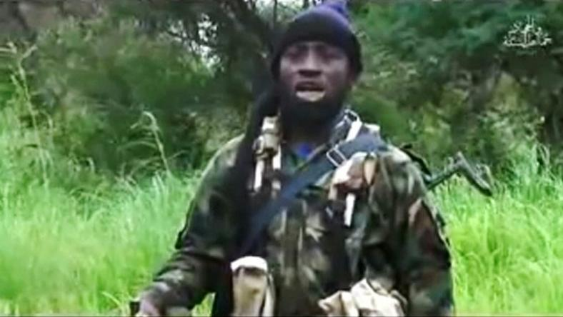 Boko Haram's shadowy leader Abubakar Shekau is shown in an August 8, 2016 video released by the Nigerian Islamist extremist group
