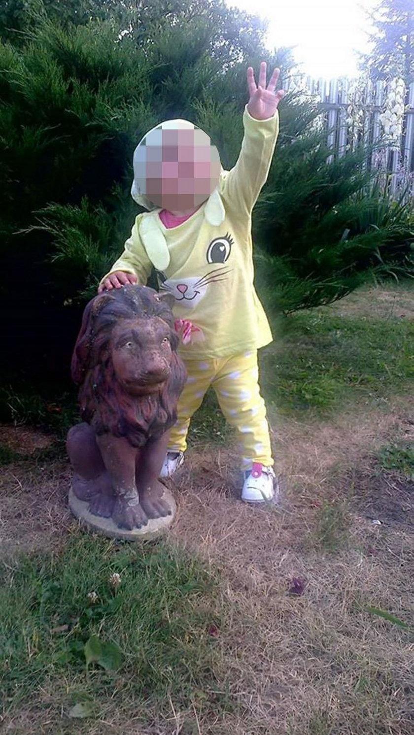 Dwuletnia Anielka została poparzona w tragicznym pożarze