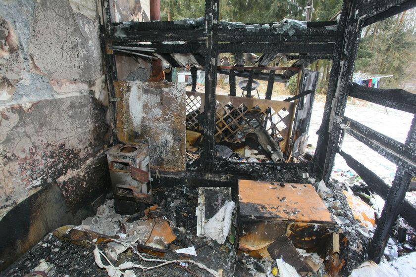 Pożar zabrał nam wszystko