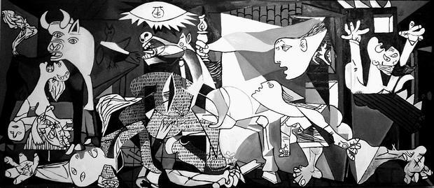 """Guernica"", Pablo Picasso"