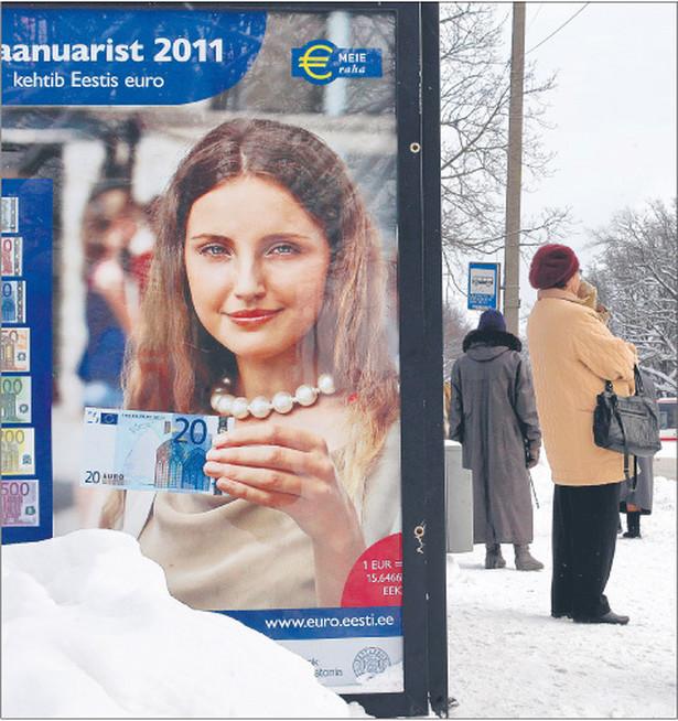 Estonia będzie 17. członkiem strefy euro Fot. Reuters/Forum