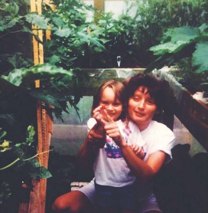 Robin sa mamom