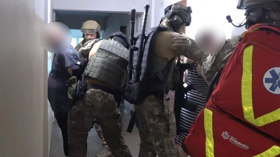 Strażnicy graniczni zatrzymali pięć osób