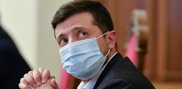 Prezydent Zełenski w szpitalu w związku z Covid-19