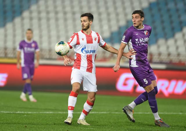 Mirko Ivanić je bio centralna figura meča Crvena zvezda - Javor