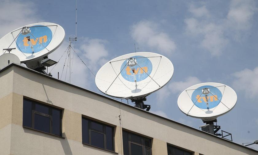 Protesty w obronie TVN i wolnych mediów.