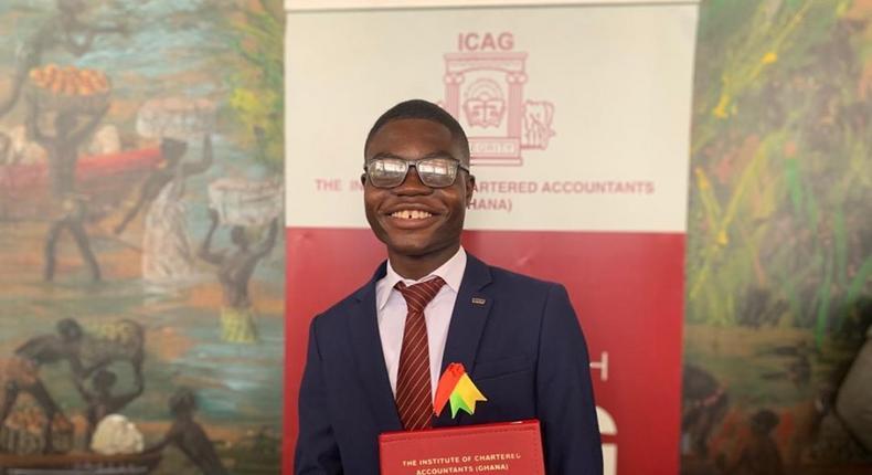 Solomon Etornam Asuhene is the youngest Chartered Accountant in Ghana