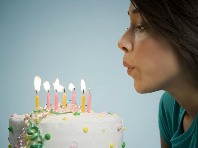 Svećice na rođendanskoj torti ne treba da duvate