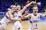 Mlade košarkašice Srbije