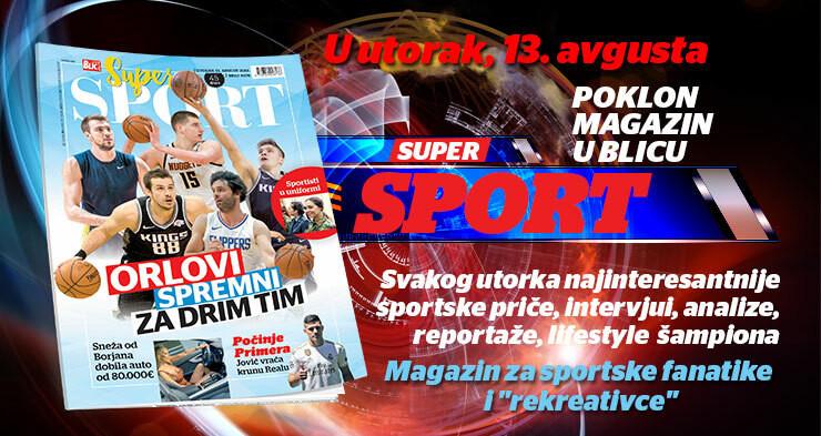 Magazin Super sport na poklon uz Blic