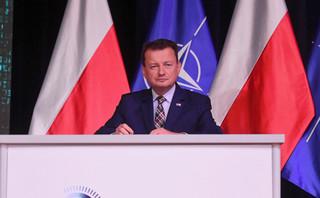 Błaszczak: Zakładam, że deklaracja o stacjonowaniu wojsk USA w Polsce zostanie w poniedziałek podpisana