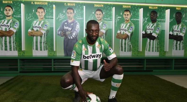 Youssouph Sabaly au Real Bétis