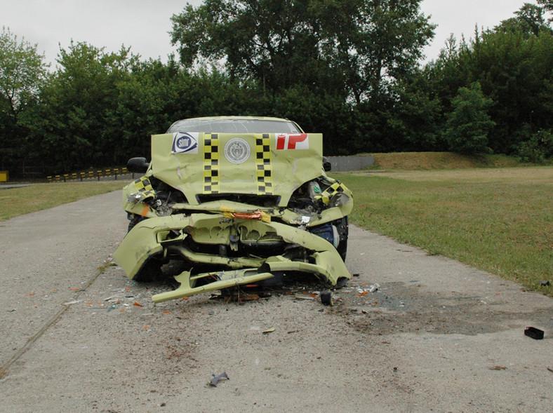 Wypadek przy 40 km/h