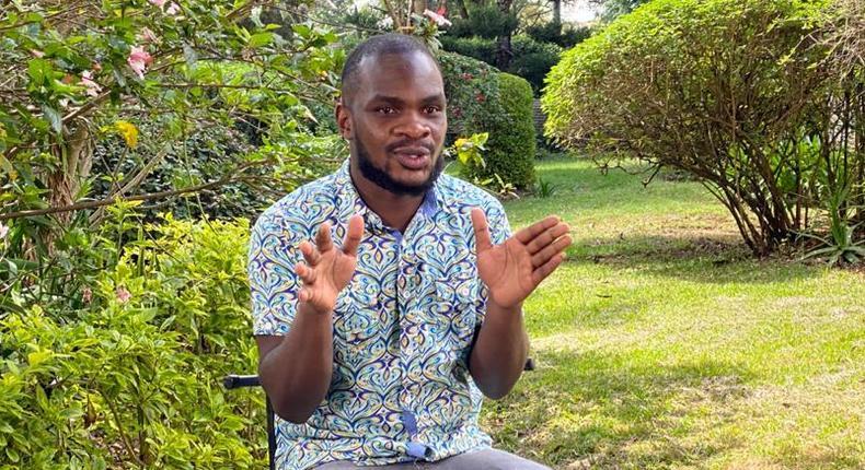 #PulseYouthMtaani: Author Collins Sakwah Ongoma