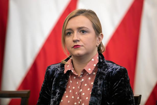 Olga Semeniuk, wiceminister rozwoju, pracy i technologii